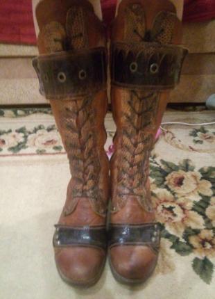 Теплі зимові чоботи на овчині