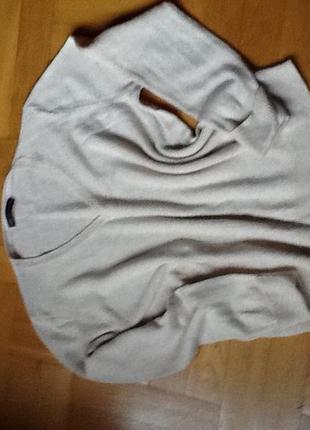 Шерсть мягкий тёплый свитер р. 52-56