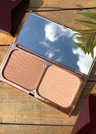 Палетка для контурирования charlotte tilbury filmstar bronze & glow light to medium