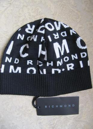 Richmond оригинал новая италия шерсть шапка