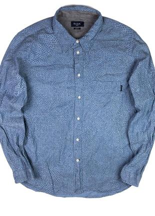Красивая мужская рубашка paul smith