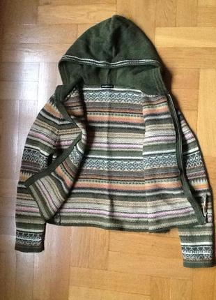 100%шерсть свитер ирландии р. 44-46