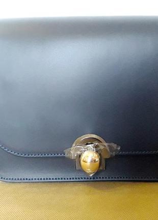 Итальянская   кожаная сумочка-клатч divas bag, новая