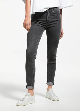 Оригінальні джинси levi's 721 high rise skinny 23х30 (стан нових)