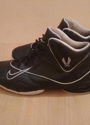 Баскетбольные кроссовки nike кожаные