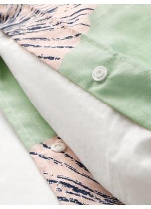 Постельное белье икеа товсиппа / ikea tovsippa 150*200см , зеленый2
