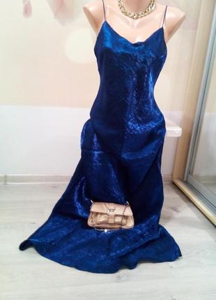 Фирменное вечернее платье в бельевом стиле. британия.