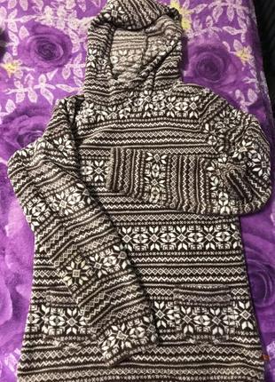Тёплая пижамная кофта