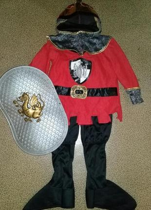 Карнавальный костюм рыцаря на 5-7лет.