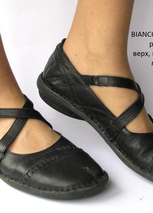 Мокасины bianco footwear р.40 дания много обуви