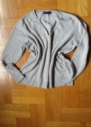 Шерстяной 100% свитер р. 52-54