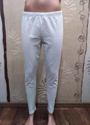 Белые велюровые лосины bonprix размер xl