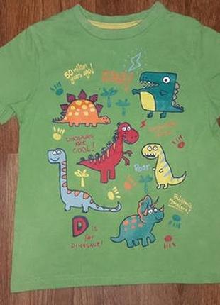 Красивая футболка tu для мальчика на возраст 2-3 года