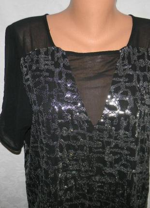 Блестящее платье в пайетках sparkle & fade2 фото