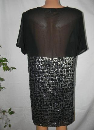 Блестящее платье в пайетках sparkle & fade3 фото