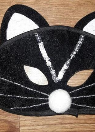 Карнавальная маска кошечки, на хелоуин hellowin