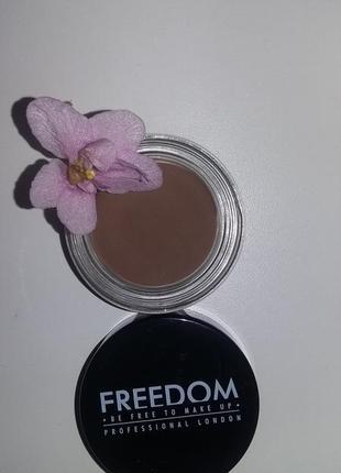 Помада для бровей london pro brow (caramel brown), 2,5 г freedom makeup
