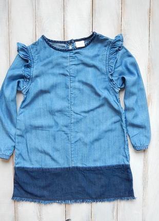 ceaee10ef5d I love next стильное джинсовое платье на девочку 4 года Next