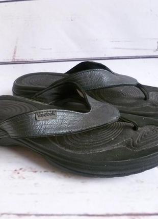 Шлёпки сандалии reebok easytone flip ii