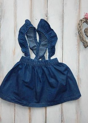 Next стильная юбка на девочку  2-3 года