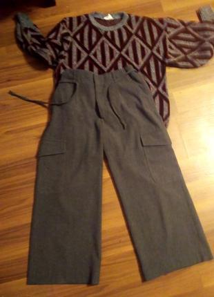 Укорочение теплие брюки inwear