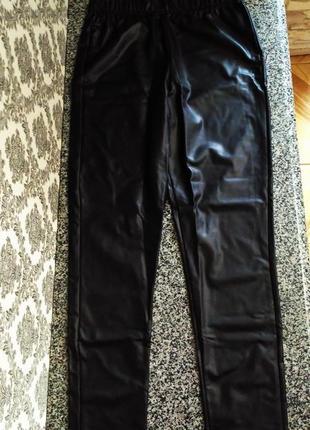 Фирменные леггинсы, лосины figur body slim leggings высокая посадка 42/44, 46/48