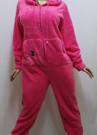 Кигуруми пижама теплая махровая