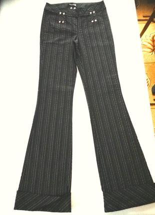 Шикарные  стрейчевые брюки от  melrose  jeans e/r  m на наш 48/50