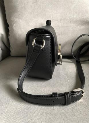 Новая чёрная сумка от итальянского бренда roccobarocco (оригинал), классика2 фото