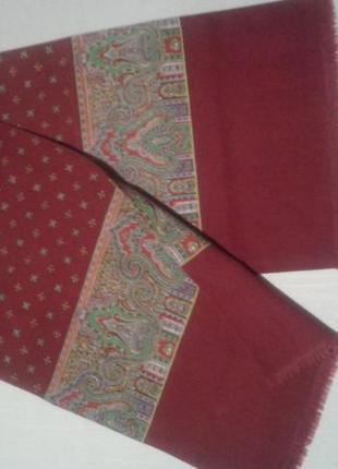 Шарф мужской шерсть винтаж + 300 шарфов и платков на странице