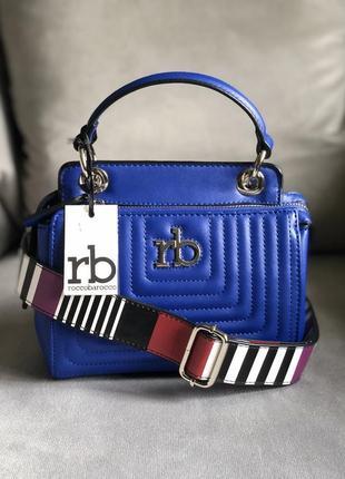 Новая трендовая сумка с широким ремешком от итальянского бренда roccobarocco (оригинал)