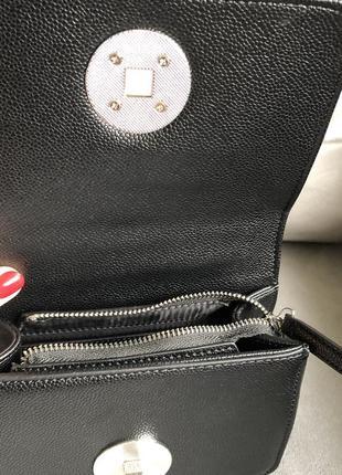 Новая стильная чёрная сумка от итальянского бренда roccobarocco (оригинал)4