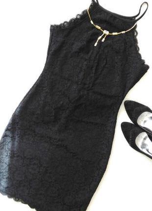 Гипюровое платье в бельевом стиле )) new look