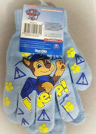 Перчатки на мальчика щенячий патруль