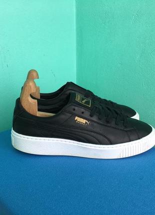 Кросівки шкіряні puma basket