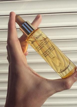 Масло-сыворотка питательное для лица abeille royale 30мл