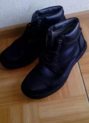 Кожаные dr. martens fritz ботинки мужские 43 размер чоловічі черевики