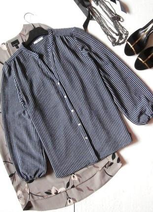 Стильная блуза блузка в полоску zara