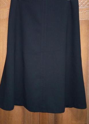 Шерстяная юбка люксовый бренд max mara оригинал, xl