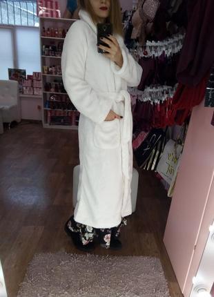 Шикарный плюшевый халат victoria's secret
