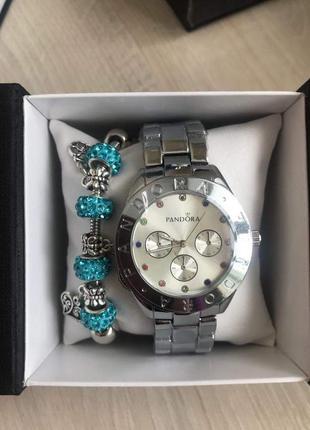 Набор часы и браслет в подарочной упаковке