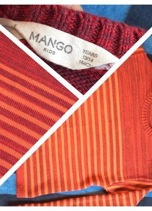 Класный укороченый свитерок mango