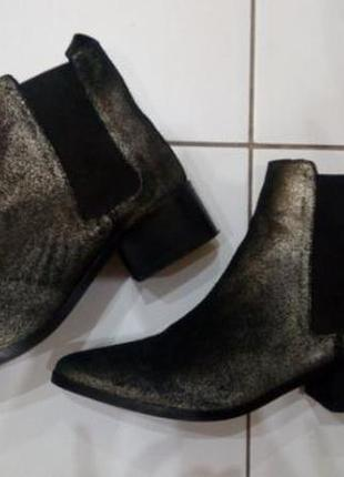 Крутые замшевые ботинки stradivarius