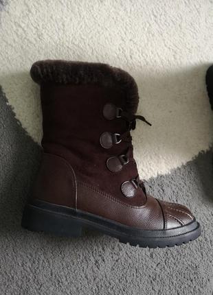 Дуже теплі черевики