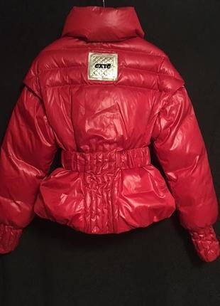 Италия новая теплая куртка, пуховик, дутик