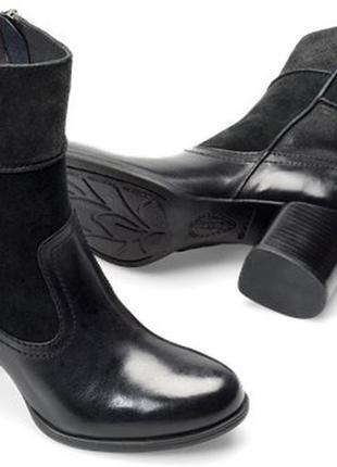 Кожаные  ботинки born hayley, оригинал из сша, р.9.5 (39.5)