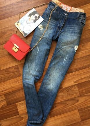 В наличии джинсы ровные next большого размера