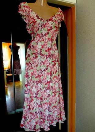 Платье миди per una/marks & spencer расклешенное c asos