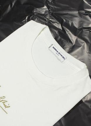 Оверсайз футболка sonia rykiel