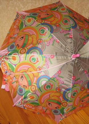Новый детский зонт-полуавтомат